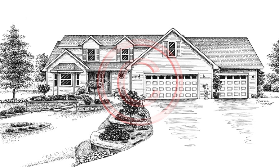 Pen and Ink Artist Kelli Swan | Custom Portraits of Houses ...